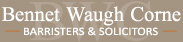 Bennet Waugh Corne Lawyers - Family Law - Winnipeg - Manitoba